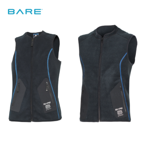 BARE SB SYSTEM MID LAYER VEST 드라이내피