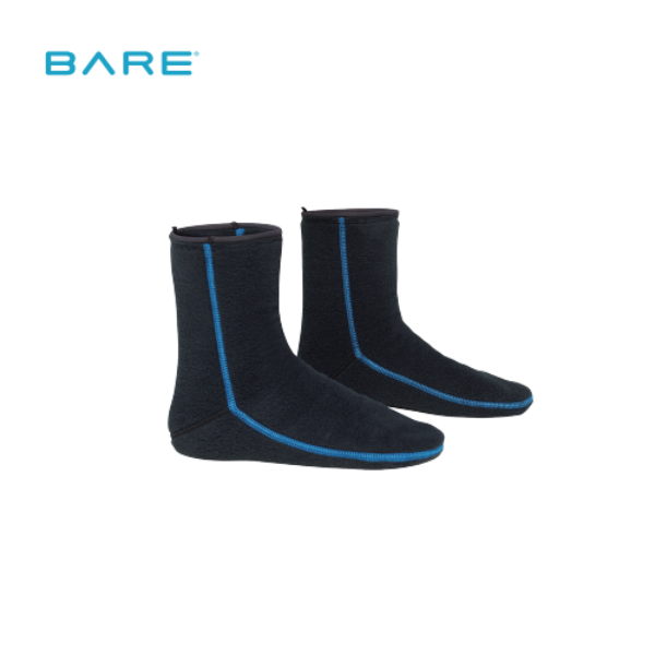 BARE SB SYSTEM MID LAYER BOOT LINER 드라이슈트 부츠이너